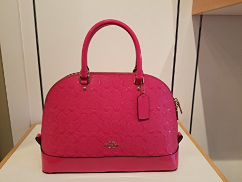 Coach Pink Patent Leather Bag - 3