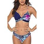 CMTOP-Donna-Costume-da-Bagno-Push-Up-Imbottito-Reggiseno-Bikini-Donna-Due-Pezzi-Swimwear-Abiti-da-Spiaggia-Costume-Mare-Due-Pezzi-Stampato-a-Costumi-Bikini-Estate-Swimsuit