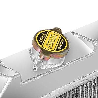 DNA Motoring RA-CHEVYT63-3 Aluminum Racing Radiator: Automotive