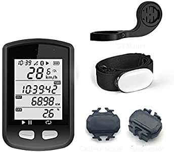 Wxxdlooa Odómetro GPS Activado for Bicicleta Ordenador velocímetro ...