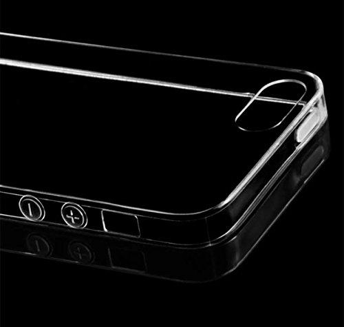 iPhone 5 TPU Silikonhuelle Handycase Silikon TPU Case fur iPhone 5 und 5s und SE