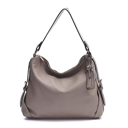 Gray Hobo Handbag - 3