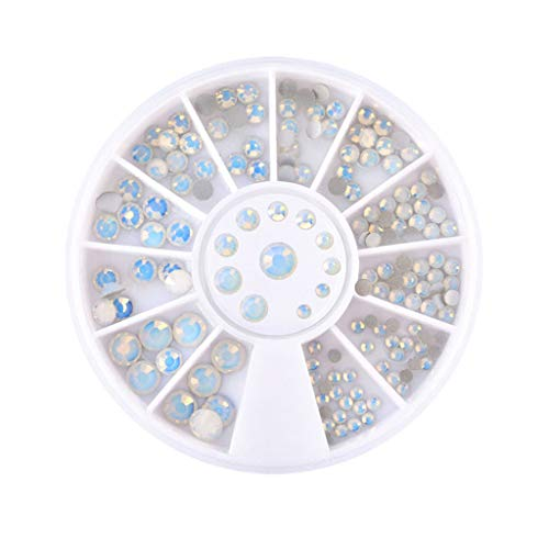 - Palarn Nail Art, Shining Diamonds Dazzling Tips Nail Sticker Sequins Colorful Nail Art Decoration