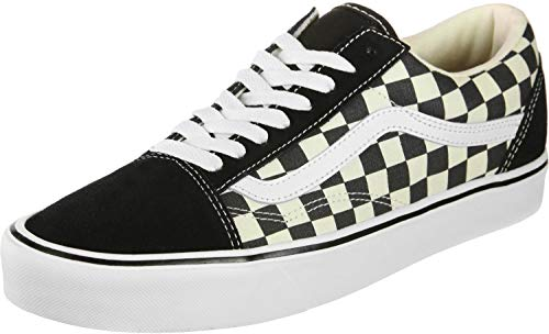 Vans Unisex Old Skool (Primary Check) Black/White VN0A38G1P0S Mens 6, Womens 7.5