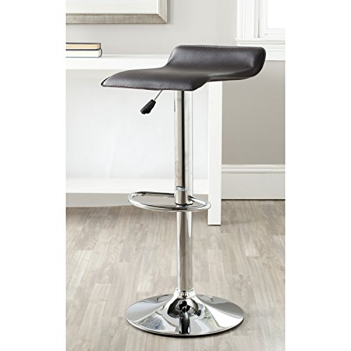 Safavieh Home Collection Sheba Brown Adjustable Swivel Gas Lift 22.4-30.7-inch Bar Stool