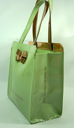 Small Bag Bow Ted Olive Detail Tote Green Kriscon Icon Baker qqSwZFI