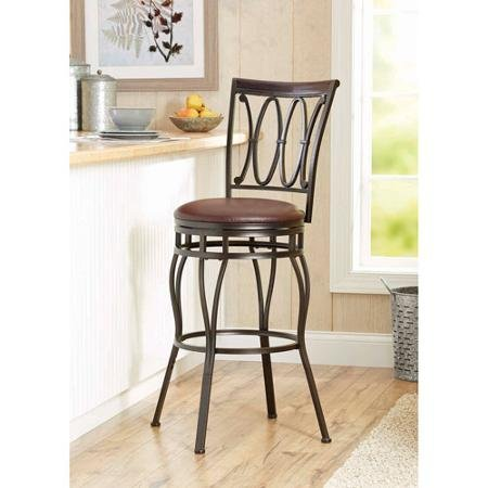 Better Homes and Gardens Adjustable Barstool, Oil Rubbed Bronze Finish from Better Homes and Gardens