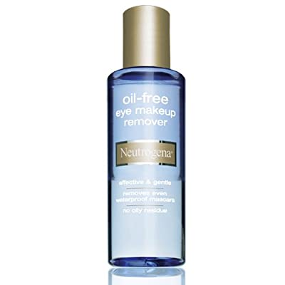 Neutrogena Cleansing Oil-Free Eye Makeup Remover, 5.5 Fluid Ounce (Pack of 3)