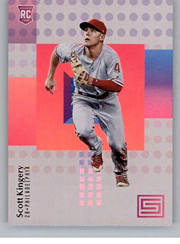 2018 Panini Chronicles Status #12 Scott Kingery Philadelphia Phillies RC Rookie Card