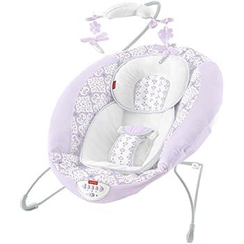 Amazon Com Fisher Price Deluxe Bouncer My Little Snugabunny Infant