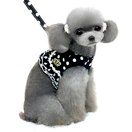 SMALLLEE_LUCKY_STORE Small Pattern Harness Padded