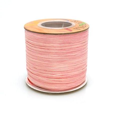 Homeford Firefly Imports Matte Raffia Ribbon Hot Pink, 1//4-Inch 100 Yards