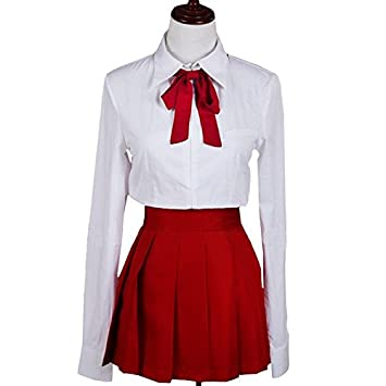 Anime Himouto Umaru-chan Umaru Doma School Uniform Cosplay Costume Girl Dress
