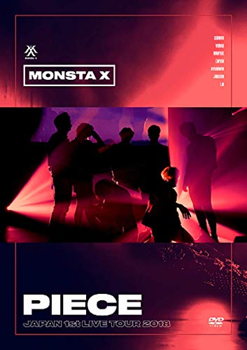 "MONSTA X,JAPAN 1st LIVE TOUR 2018""PIECE"" [DVD]"