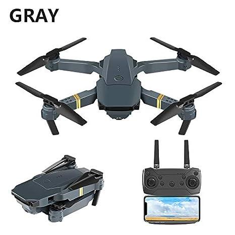 ETbotu Drone RC E58 WIFI FPV con funda para cámara de 2 MP ...