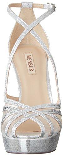 Femme Chaussures Jordania Silber Menbur Compensées Argenté 09 ztPqH4HwoR