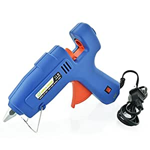Simple & Timeless Premium Hot Melt Glue Gun - 100W High Power/Temperature - Great for Crafts and Fast Repairs at Home or Office