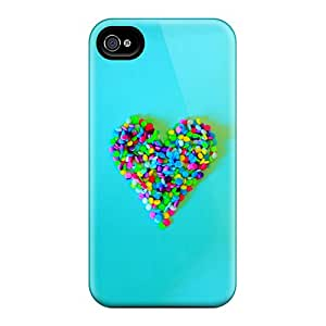 New Arrival Candy Heart NGdldGn3479mCQTq Case Cover/ 4/4s Iphone Case