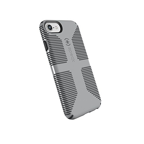 Speck Products CandyShell Grip Cell Phone Case for iPhone 8/7/6S/6 - Pebble Grey/Slate -