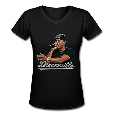 FHY Women's J. Cole V-Neck T-shirtS