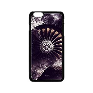 Abstract Waves Cover Case Skin for iPhone 6 Hard PC Clear
