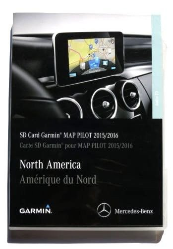 2015 2016 2017 Mercedes-Benz GLC E & C-Class Map SD Card Garmin Navigation GPS Map Pilot 5.0 W205 AUDIO 20 OEM (Mercedes C-class Sedan)