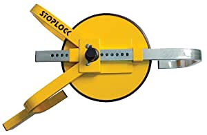 Stoplock HG 400-00 - Bloqueo de rueda ajustable (de 33 cm a 38 cm)