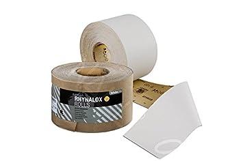 Indasa RHYNALOX Schleifpapier - Rolle (P40 - P400) - 75mm x 50m / 1 Stü ck (Kö rnung: P60)
