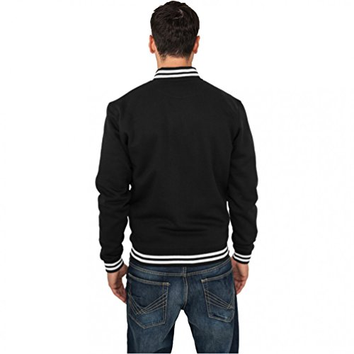 Sweatjacket Uomo Felpa Urban Classics College Red cZvFAWgR