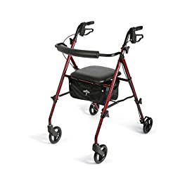 MDS86825SLRX - Medline Freedom Ultralight Rollators