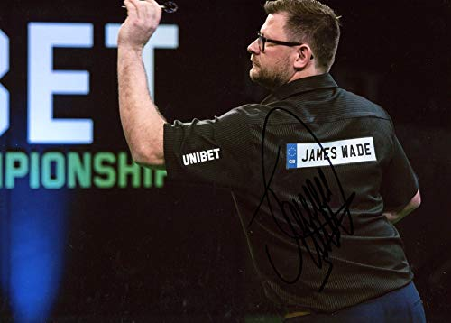 James Wade DARTS PLAYER autograph, In-Person signed photo