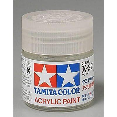 Tamiya America, Inc Acrylic X22 Gloss,Clear, TAM81022: Toys & Games