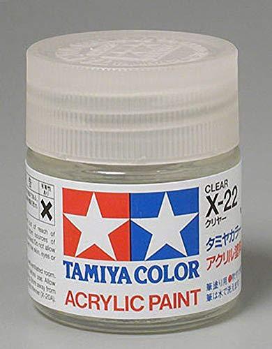 Tamiya Acrylic X22 - Gloss Clear Acrylic