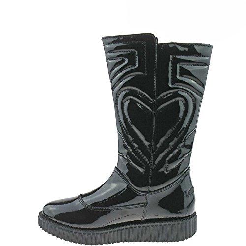 Lelli Kelly LK8530 (DB01) Nero Vernice Boots-26 (UK 8)