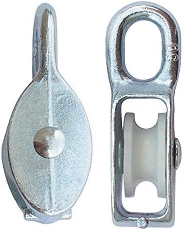 KeyMet GmbH Seilrolle Drahtseilblock Umlenkrolle Blockseilrolle 30 mm Blockrolle