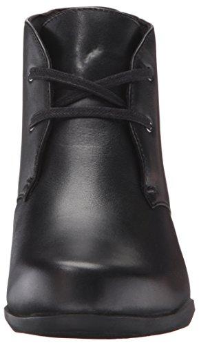 Clarks Donna Rosalyn Lark Boot In Pelle Nera
