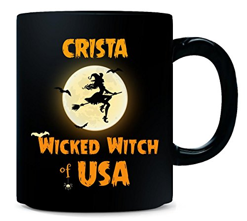 Crista Wicked Witch Of Usa Halloween Gift - -