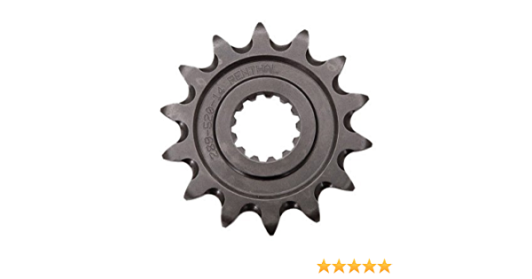 Pro X Grooved Ultralight Front Sprocket 15 Tooth for Yamaha YFZ 450 2004-2009
