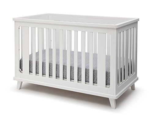 Delta Children Ava 3-in-1 Convertible Baby Crib, - Simplicity Toddler Crib