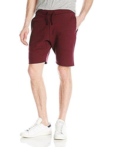 Ma Croix Mens Premium Sweat Shorts Jogger Classic Fit Drawstring Casual Fleece Elastic Cotton Gym Athletic Shorts