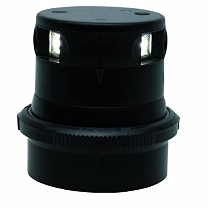 Image of Aqua Signal Masthead LED Navigation Light with Black Housing Electrical Equipment
