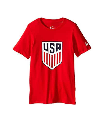 (Nike Boys USA Football Tee [University RED] (L) )