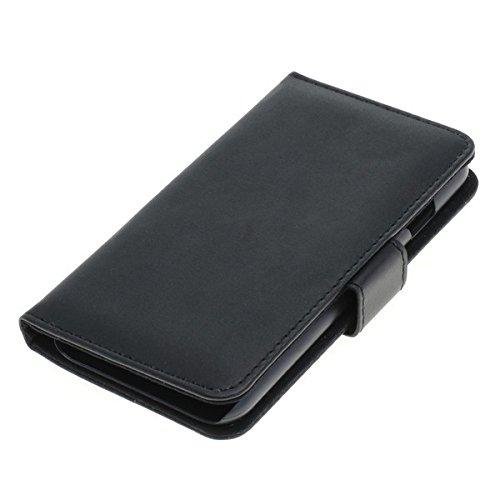Handy Tasche Case book für Apple iPhone 7 / Handytasche Schutzhülle Etui schwarz