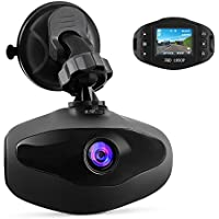 Hikity Dash Camera 1080P FHD 170 Degree Wide View Lens G-sensor, Loop Recording,Motion Detect, Supper Mini Size 1.5 Inch Car Driving Video Recorder