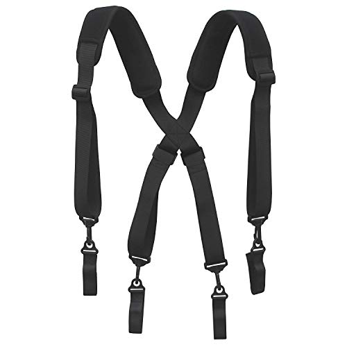 Men Paddded Adjustable Tool Belt Suspender Duty Belt Suspender Tactical Duty Belt Harness For Duty Belt