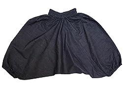 Harem Pants in Soft Denim 6