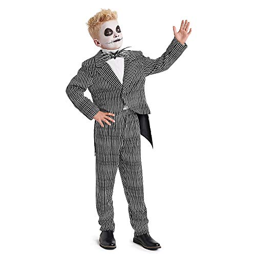 Disney Jack Skellington Costume for Kids - The Nightmare Before Christmas Size 5/6 ()