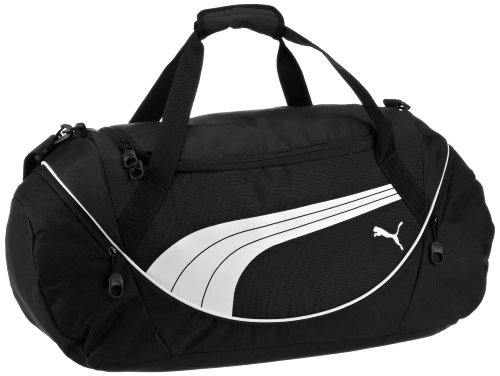 Amazon PUMA Mens Teamsport Formation 20 Inch Duffel Bag Black One Size Sports Duffle Bags Clothing
