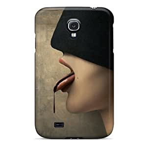 Galaxy S4 Case Cover - Slim Fit Tpu Protector Shock Absorbent Case (im Thirsty)