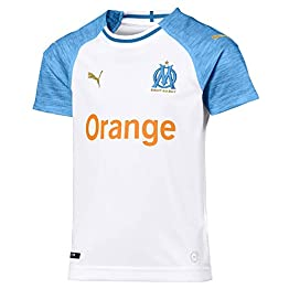 Puma Olympique de Marseille Home Shirt Replica Maillot Mixte Enfant